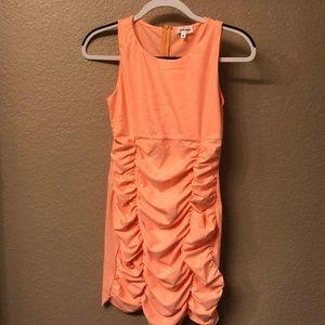 Rouged Mini Dress